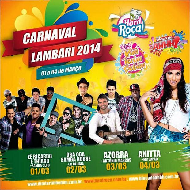 Carnaval em Lambari 2014