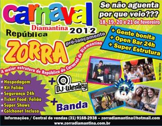 carnaval diamantina 2012