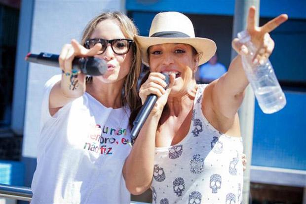 Ivete Sangalo e Claudia Leite no Carnalfenas