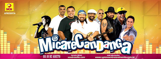 Atrações no MicareCandanga 2013
